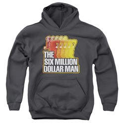 Six Million Dollar Man - Youth Run Fast Pullover Hoodie
