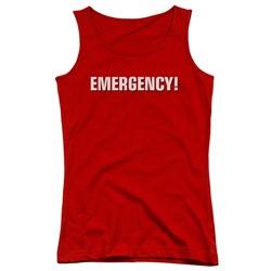 Emergency - Juniors Logo Tank Top