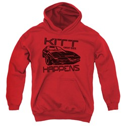 Knight Rider - Youth Kitt Happens Pullover Hoodie