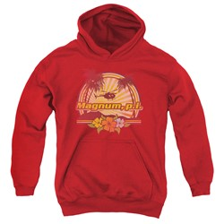 Magnum P.I. - Youth Hawaiian Sunset Pullover Hoodie