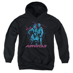 Airwolf - Youth Graphic Pullover Hoodie