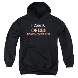 Law & Order: Special Victim's Unit - Youth Logo Pullover Hoodie