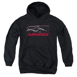 Airwolf - Youth Grid Pullover Hoodie