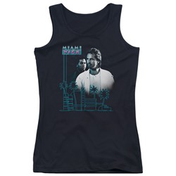 Miami Vice - Juniors Looking Out Tank Top