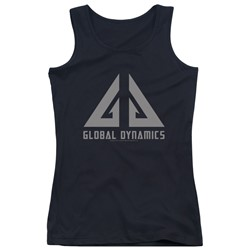 Eureka - Juniors Global Dynamics Logo Tank Top