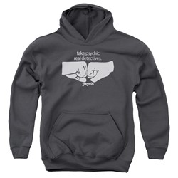 Psych - Youth Fist Bump Pullover Hoodie