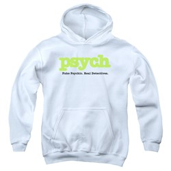 Psych - Youth Title Pullover Hoodie