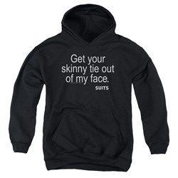 Suits - Youth Skinny Tie Pullover Hoodie