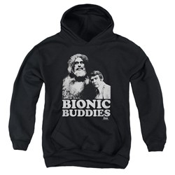 Six Million Dollar Man - Youth Bionic Buddies Pullover Hoodie