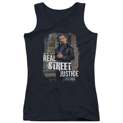 Law & Order: Special Victim's Unit - Juniors Street Justice Tank Top