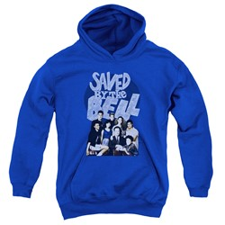 Saved By The Bell - Youth Retro Cast Pullover Hoodie