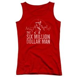 Six Million Dollar Man - Juniors Target Tank Top