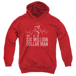 Six Million Dollar Man - Youth Target Pullover Hoodie