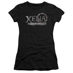 Xena: Warrior Princess - Womens Battered Logo T-Shirt
