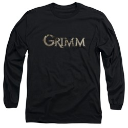 Grimm - Mens Logo Long Sleeve T-Shirt