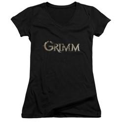 Grimm - Womens Logo V-Neck T-Shirt