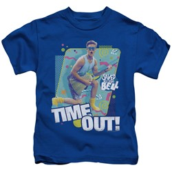 Saved By The Bell - Little Boys Time Out T-Shirt
