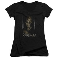 Grimm - Womens Chompers V-Neck T-Shirt