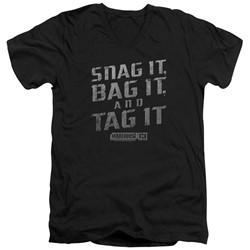 Warehouse 13 - Mens Snag It V-Neck T-Shirt