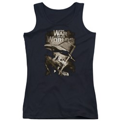 War Of The Worlds - Juniors Death Rays Tank Top