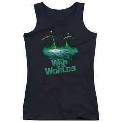 War Of The Worlds - Juniors Global Attack Tank Top