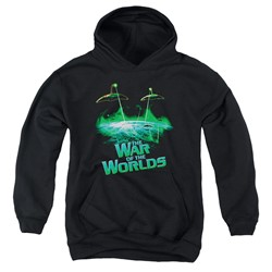 War Of The Worlds - Youth Global Attack Pullover Hoodie