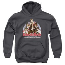 School Of Rock - Youth I Pledge Allegiance Pullover Hoodie