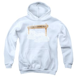 Its A Wonderful Life - Youth Bedford Falls Pullover Hoodie