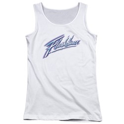 Flashdance - Juniors Logo Tank Top