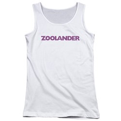 Zoolander - Juniors Logo Tank Top