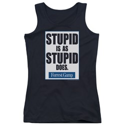 Forrest Gump - Juniors Stupid Is Tank Top