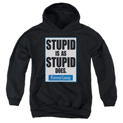 Forrest Gump - Youth Stupid Is Pullover Hoodie
