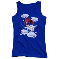 Airplane - Juniors Picked The Wrong Day Tank Top