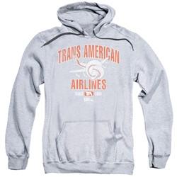 Airplane - Mens Trans American Pullover Hoodie