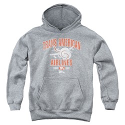 Airplane - Youth Trans American Pullover Hoodie