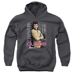 Pretty In Pink - Youth Just Duckie Pullover Hoodie