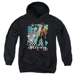 Pretty In Pink - Youth A Duckman Pullover Hoodie