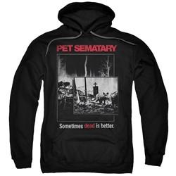 Pet Semetary - Mens Cat Poster Pullover Hoodie