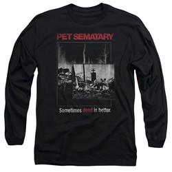 Pet Semetary - Mens Cat Poster Long Sleeve T-Shirt
