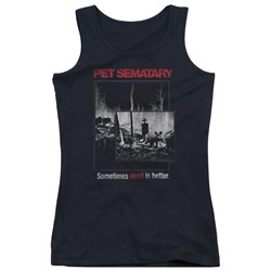 Pet Semetary - Juniors Cat Poster Tank Top