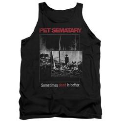 Pet Semetary - Mens Cat Poster Tank Top