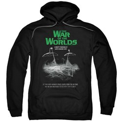 War Of The Worlds - Mens Attack Poster Pullover Hoodie