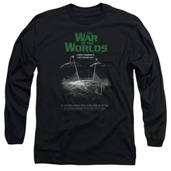 War Of The Worlds - Mens Attack Poster Long Sleeve T-Shirt