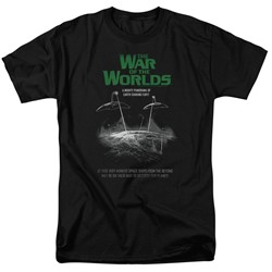War Of The Worlds - Mens Attack Poster T-Shirt