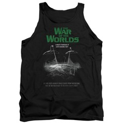 War Of The Worlds - Mens Attack Poster Tank Top