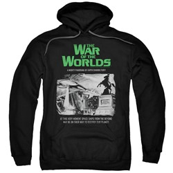 War Of The Worlds - Mens Attack People Poster Pullover Hoodie