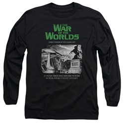 War Of The Worlds - Mens Attack People Poster Long Sleeve T-Shirt