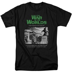War Of The Worlds - Mens Attack People Poster T-Shirt