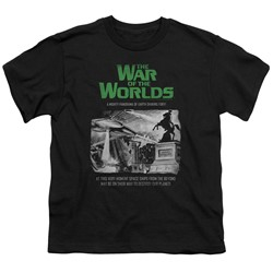 War Of The Worlds - Big Boys Attack People Poster T-Shirt