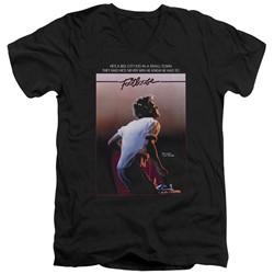 Footloose - Mens Poster V-Neck T-Shirt